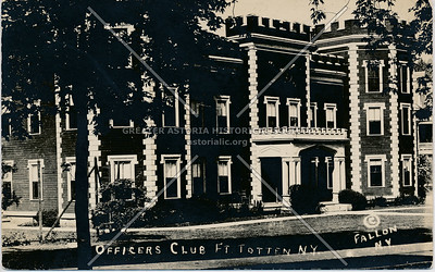 Officers Club, Fort Totten, NY.