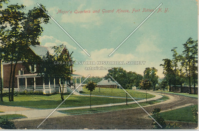 Major's Quarters & Guard House, Fort Totten, N.Y.