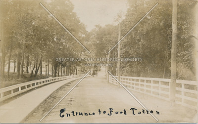 Entrance to Fort Totten, N.Y.
