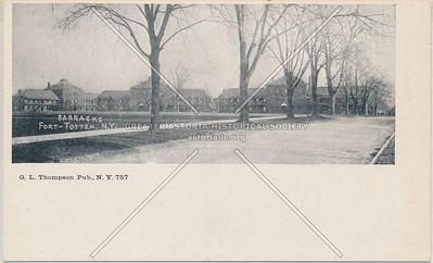 Barracks, Fort Totten, N.Y.