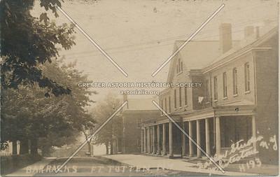 Barracks, Fort Totten, N.Y. 1922