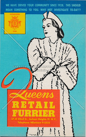 Queens Retail Furrier, 37-41 82nd St, Jackson Heights, L.I.