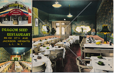 Dragon Seed Restaurant, 86-02 37th Ave, Jackson Heights, L.I.