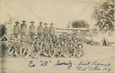 First Regiment, Fort Totten, N.Y. June 1908