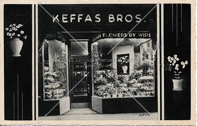 Keffas Bros Co. Flowers, 40-15 82nd St, 37th Ave & 82nd St, Jackson Heights, L.I.