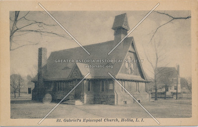 St. Gabriel's Episcopal Church, Hollis, LIC.