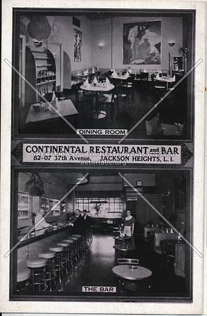 Continental Restaurant & Bar, 82-07 37th Ave, Jackson Heights, L.I.