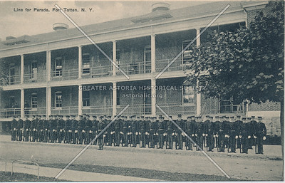 Line for Parade, Fort Totten, N.Y.