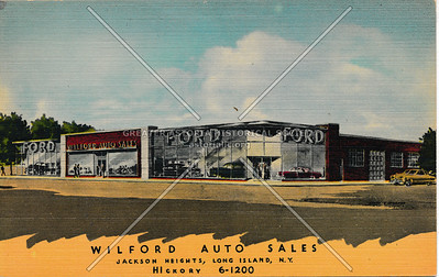 Wilford Auto Sales, Jackson Heights, L.I.