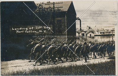 Landing of 71st Regiment, Fort Totten, N.Y.