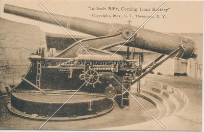 10-inch rifle Fort Totten, N.Y.