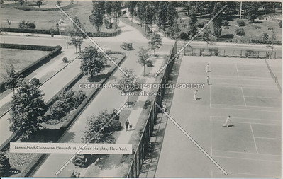 Tennis-Golf Clubhouse Grounds at Jackson Heights, L.I.