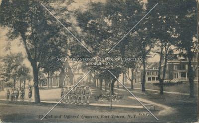 Chapel Officers' Quarters, Fort Totten, N.Y.