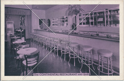 The Continental Restaurant & Bar, 82-07 37th Ave, Jackson Heights, L.I.