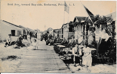 Reid Ave., toward Bay-side, Rockaway Point, L.I.
