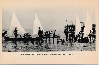 Sail Boat Rest, Bayside, Rockaway Point, L.I.