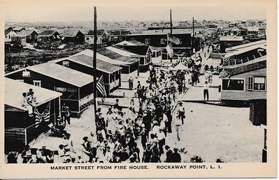 Market St from Fire House, Rockaway Point, L.I.