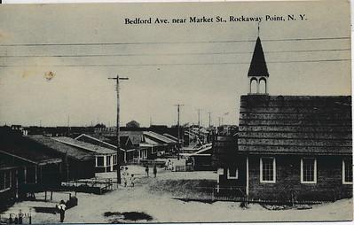 Bedford Ave near Market St., Rockaway Point, N.Y.