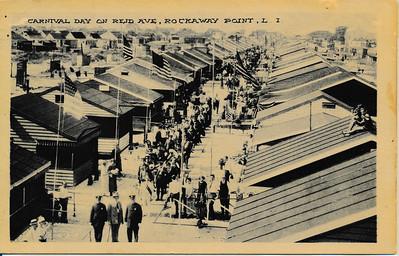 Carnival Day on Reid Ave, Rockaway Point, L.I.