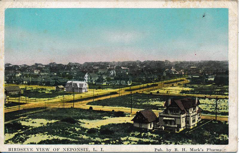 Birdseye View of Neponsit, L.I.