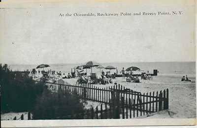 At the Oceanside, Rockaway Point & Breezy Point, N.Y.