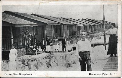 Ocean Side Bungalows, Rockaway Point, L.I.