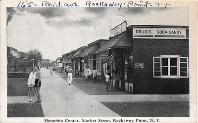 Shopping Center, Market St, Rockaway Point, N.Y.