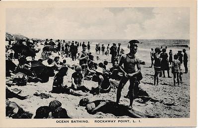 Ocean Bathing, Rockaway Point, L.I.