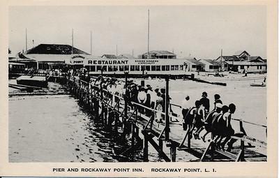 Pier & Rockaway Point Inn, Rockaway Point, L.I.