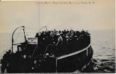 Leaving Breezy Point Section, Rockaway Point, N.Y.