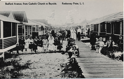 Bedford Ave, from Catholic Church to Bayside, Rockaway Point, L.I.