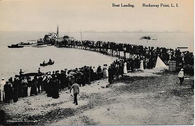 Boat Landing, Rockaway Point, L.I.