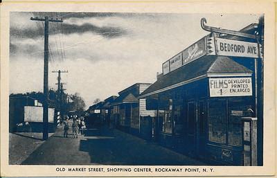 Old Market St, Shopping Center, Rockaway Point, N.Y.
