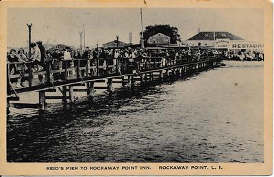 Reid's Pier to Rockaway Point Inn, Rockaway Point, L.I.