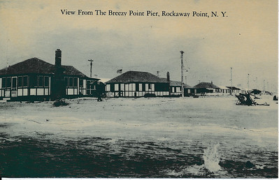 View from the Breezy Point Pier, Rockaway Point, N.Y.