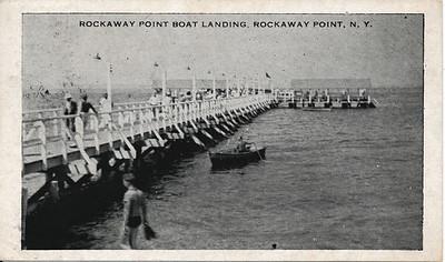 Rockaway Point Boat Landing, Rockaway Point, L.I.