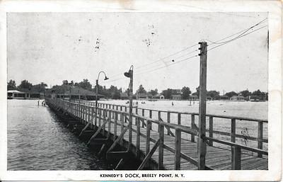 Kennedy's Dock, Breezy Point, N.Y.