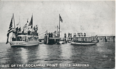 One of the Rockaway Point Boats Arriving