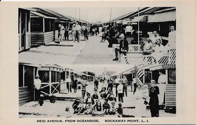 Reid Ave, from Oceanside, Rockaway Point, L.I.
