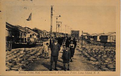 Breezy Point, New Development, Rockaway Point, L.I.