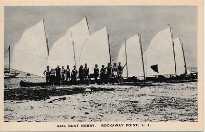 Sail Boat Hobby, Rockaway Point, L.I.