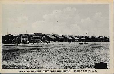 Bay Side, Looking West from Kennedy's, Breezy Point, L.I.