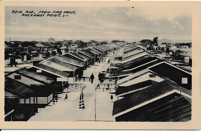 Reid Ave, from Fire House, Rockaway Point, L.I.