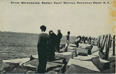 Stone Breakwater, Breezy Point Section, Rockaway Point, N.Y.