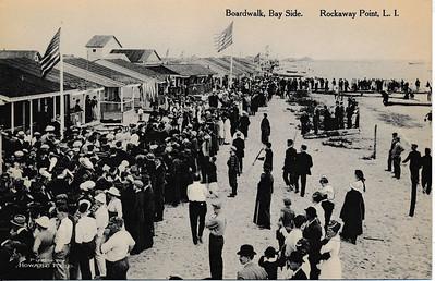 Boardwalk, Bayside, Rockaway Point, L.I.