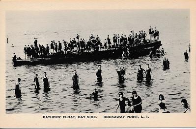 Bathers' Float, Bayside, Rockaway Point, L.I.