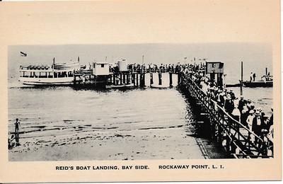Reid's Boat landing, Bayside, Rockaway Point, L.I.