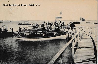 Boat Landing at Breezy Point, L.I.