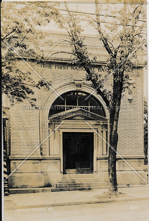 First National Bank, Whitestone