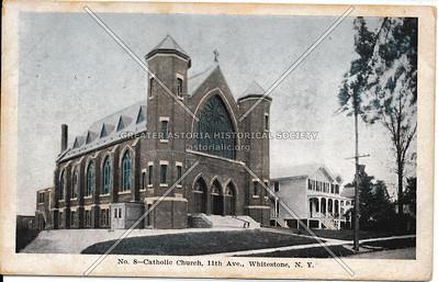 St Luke's Roman Catholic church, Clintonville St (11 Ave)